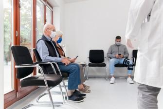 Arztbesuch bei Gicht