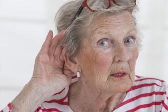 Schwerhörigkeit im Alter