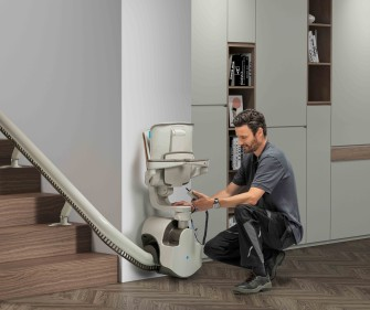 Sitzlift Installation