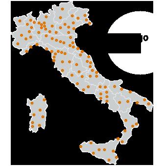 Sopralluogo gratis in tutta Italia
