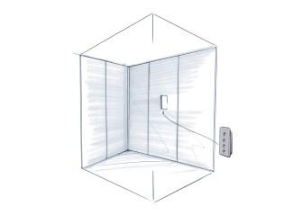 H100 ascensore domestico spindle