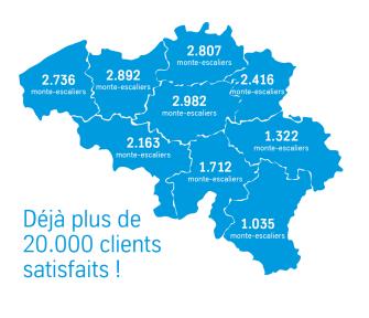 Déjà plus 20.000 clients satisfaits en Belgique !