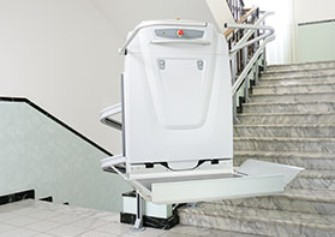 RPsp skrå plattformheis fra TK Elevator