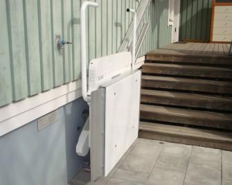 Supra skrå plattformheis fra TK Elevator